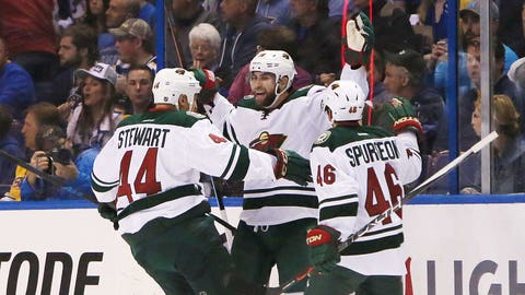 In pictures: Jason Zucker