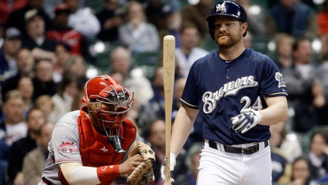 Reds at Brewers: 4/20/15-4/23/15
