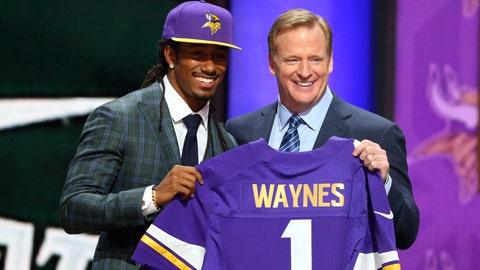 Round 1, Pick 11: Trae Waynes, CB, Michigan State