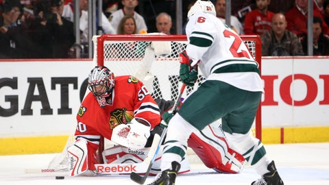 PHOTOS: Blackhawks 4, Wild 3