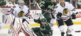 Wild swept by Blackhawks in 4-3 loss