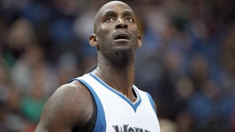 Minnesota Timberwolves - Kevin Garnett, Age: 39