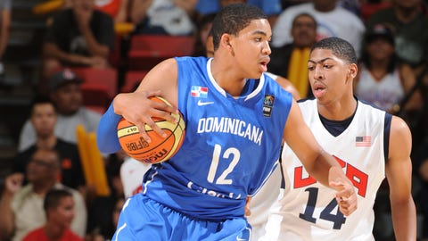 Towns has played internationally for the Dominican Republic