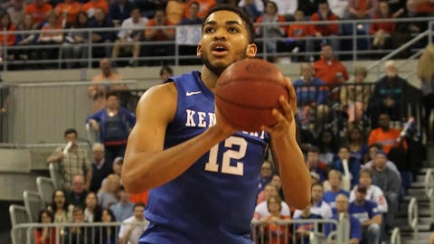 Towns can shoot 3s