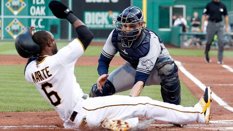 Brewers at Pirates: 6/8/15-6/10/15
