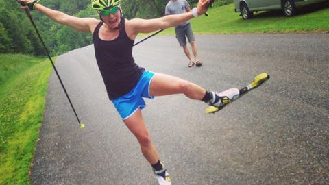 Jessie Diggins, cross country skier, Afton native