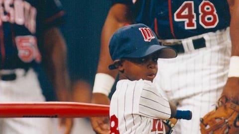 Torii Hunter, Twins outfielder