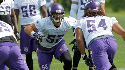 PHOTOS: Vikings mandatory minicamp