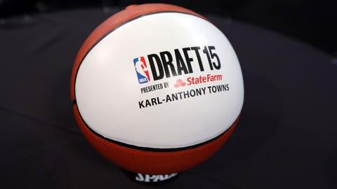 Karl-Anthony Towns draft night
