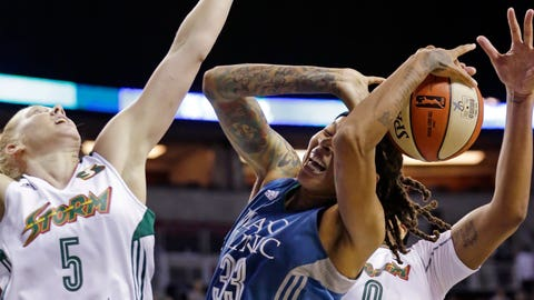 Minnesota Lynx at Seattle Storm: 6/25/15