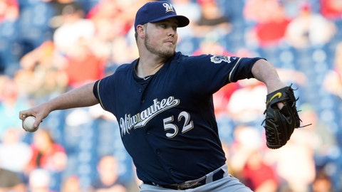 Brewers at Phillies: 6/29/15-7/2/15