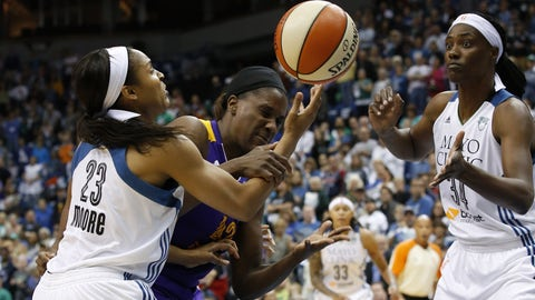 The Lynx have a stifling defense that cleans up on the glass