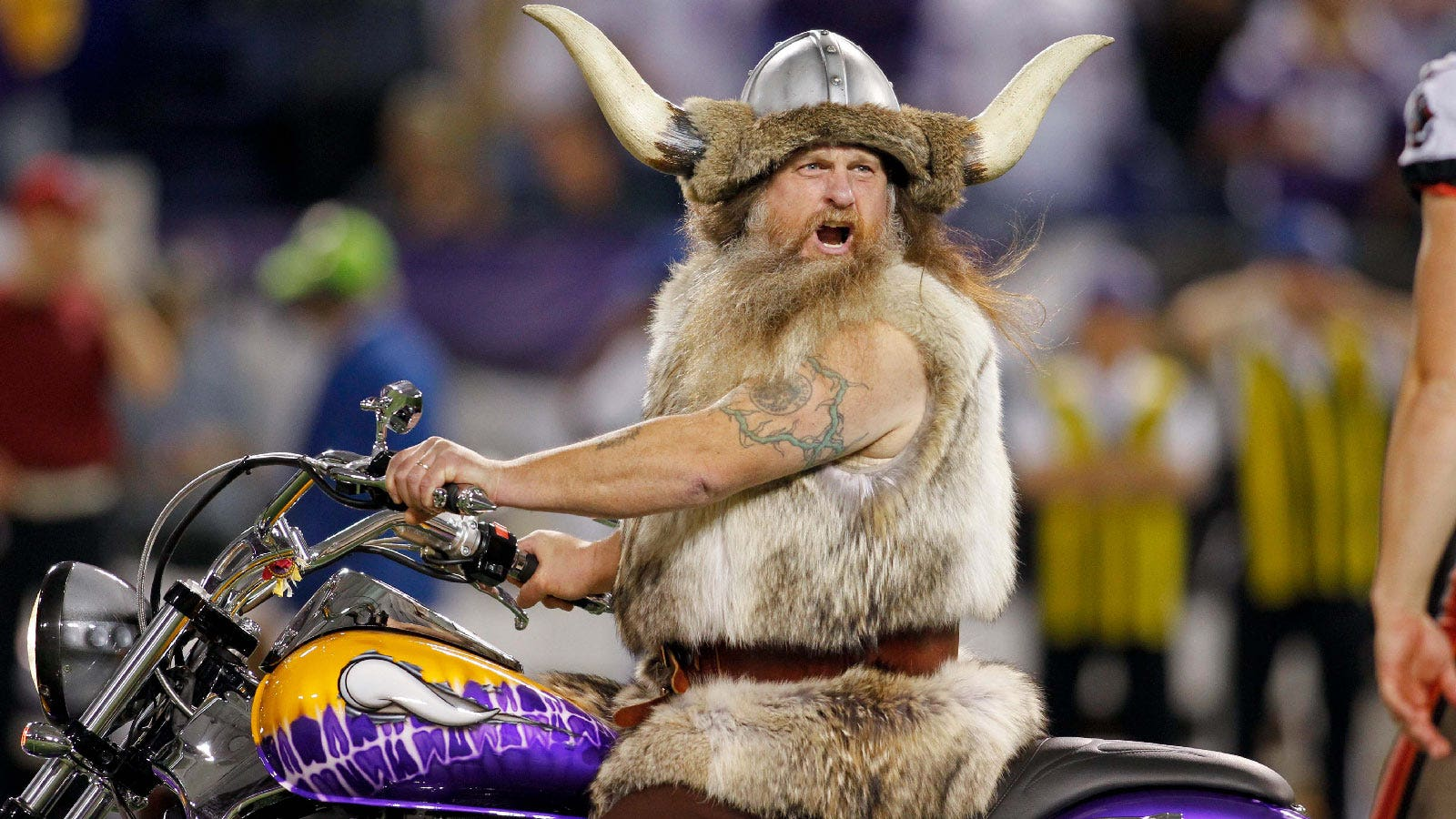 Original Vikings Mascot I Wouldn T Have Asked For The