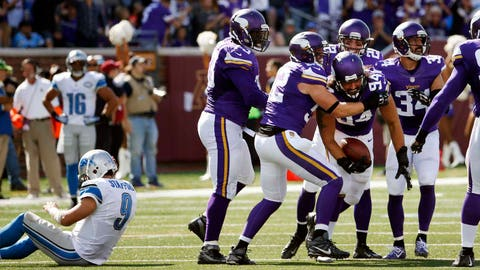 Sept. 20: Vikings 26, Lions 16