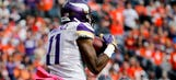 Vikings getting healthier at wide receiver