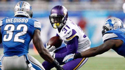 Vikings at Lions: 10/25/15
