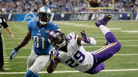 Oct. 25: Vikings 28, Lions 19