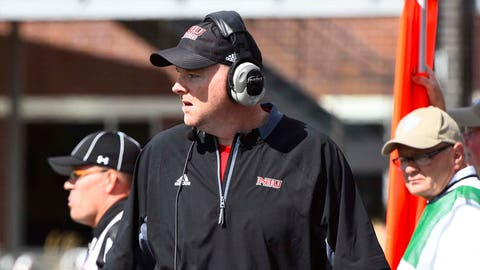 Rod Carey, Northern Illinois coach