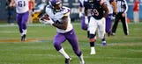Late scores lead Vikings to second NFC North road win, in Chicago