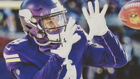 Stefon Diggs, WR, Vikings (groin): Active