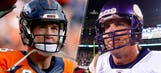 Peyton Manning breaks Favre's career passing record