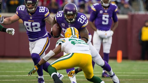 Nov. 22: Packers 30, Vikings 13