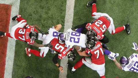 Nov. 29: Vikings 20, Falcons 10