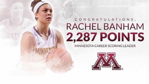Rachel Banham, Gophers G