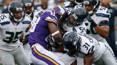 Seahawks at Vikings: 12/6/15