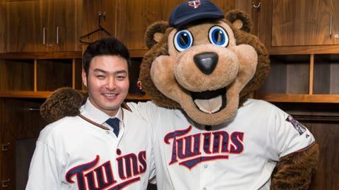 TC Bear, Twins mascot