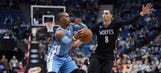 Wolves fall behind early, drop home loss to Denver