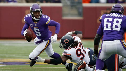 Bears at Vikings: 12/20/15