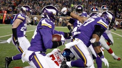 Giants at Vikings: 12/27/15