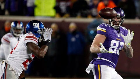 Dec. 27: Vikings 49, Giants 17