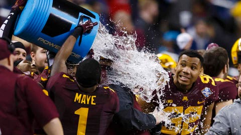 Gophers vs. Central Michigan (Quick Lane Bowl): 12/28/15