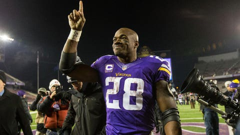 Return of Adrian Peterson and another 1,000-yard season, possible rushing title