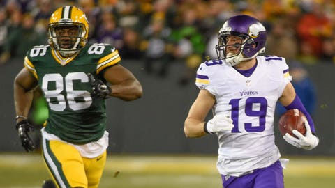 Weeks 2, 16: Sunday, Sept. 18; Saturday, Dec. 24 vs. Green Bay Packers