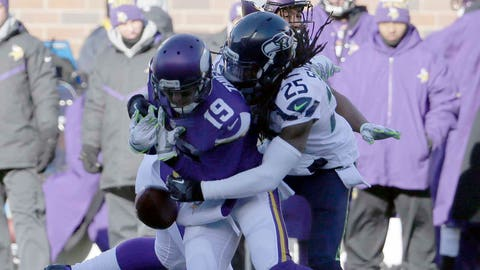 Seahawks at Vikings (Wild Card Round): 1/10/16