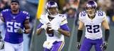 First Pro Bowl for Vikings' Barr, Bridgewater and Smith