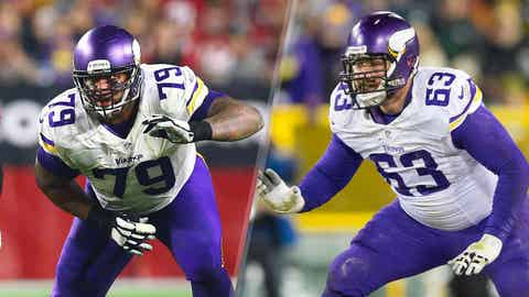 Right guard: Mike Harris vs. Brandon Fusco