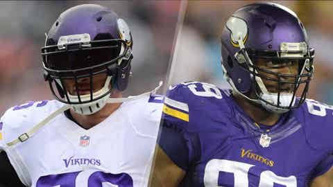 Left defensive end: Brian Robison vs. Danielle Hunter