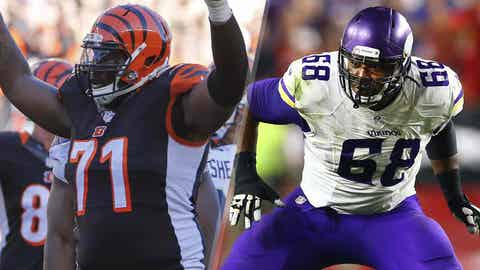 Right tackle: Andre Smith vs. T.J. Clemmings