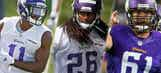 2016 Minnesota Vikings training camp position battles