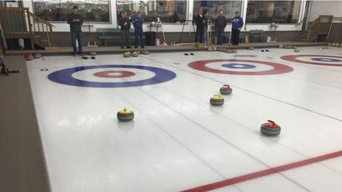 Bert Blyleven Caravan Curling