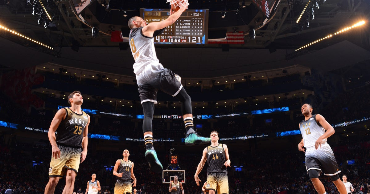 1992354100d LaVine tunes up for dunk contest with big Rising Stars game | FOX Sports