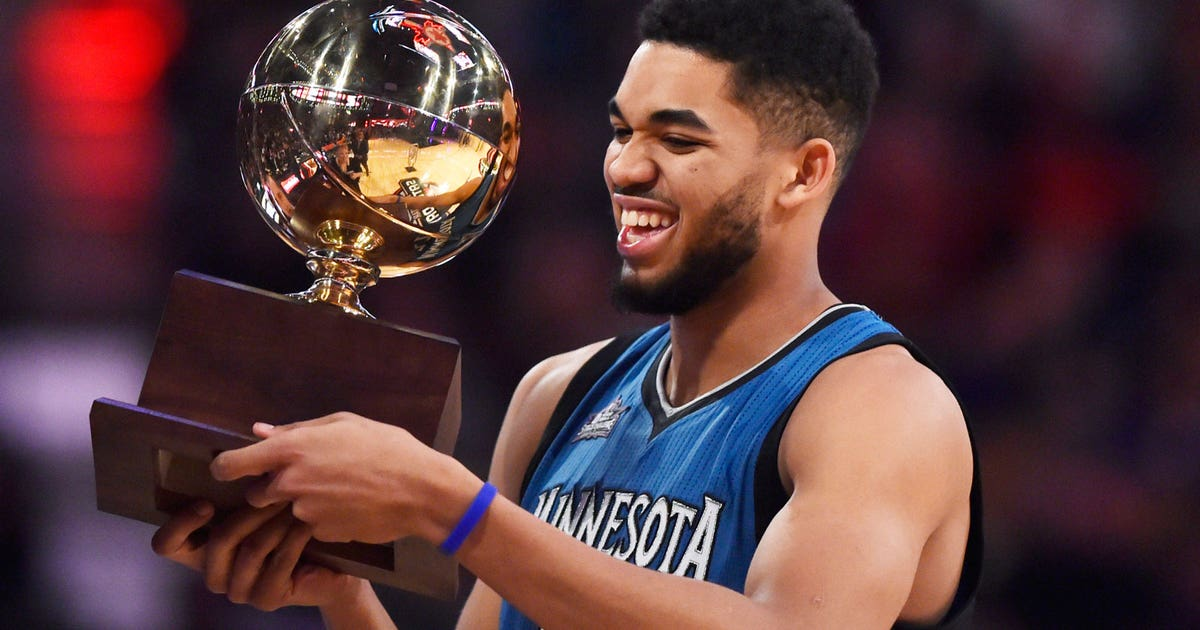 Timberwolves Towns takes title in Skills Challenge | FOX ...