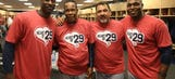 Hall of Famer Rod Carew touched by Twins' T-shirt tribute