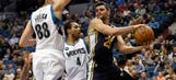 Wolves struggle on offense in 93-84 loss to Jazz