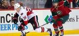Wild's six-game winning streak ends with 3-2 loss to Ottawa
