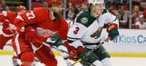 Wild comeback falls short in 3-2 loss to Red Wings